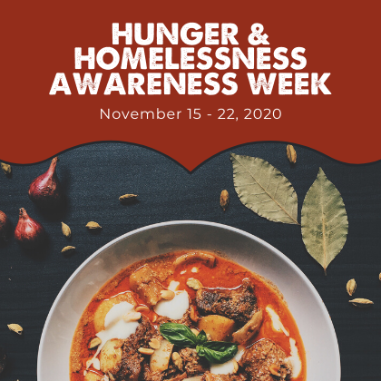 Hunger and Homeless Awareness Week